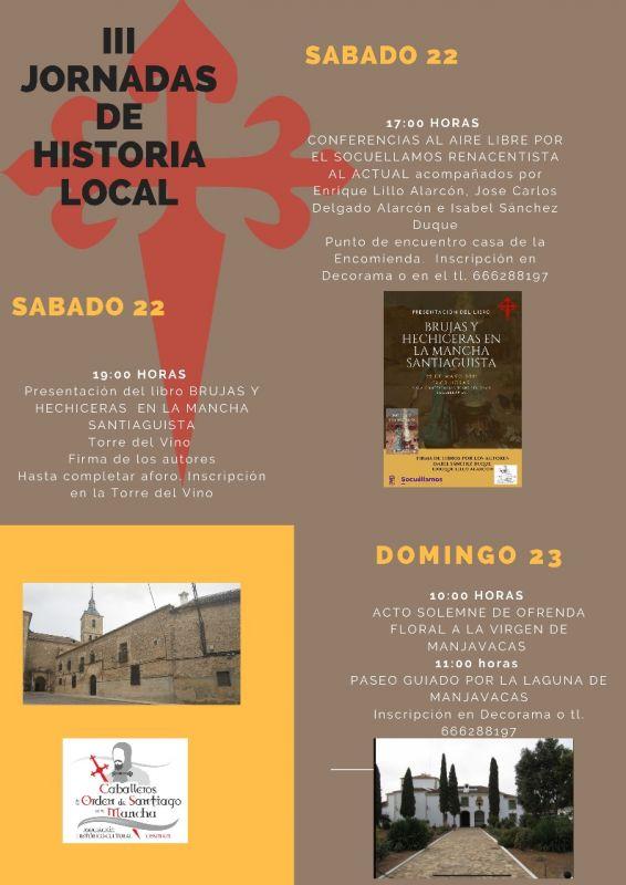 Imagen  PRESENTACIÓN DEL LIBRO  'BRUJAS  Y HECHICERAS en la Mancha Santiaguista'