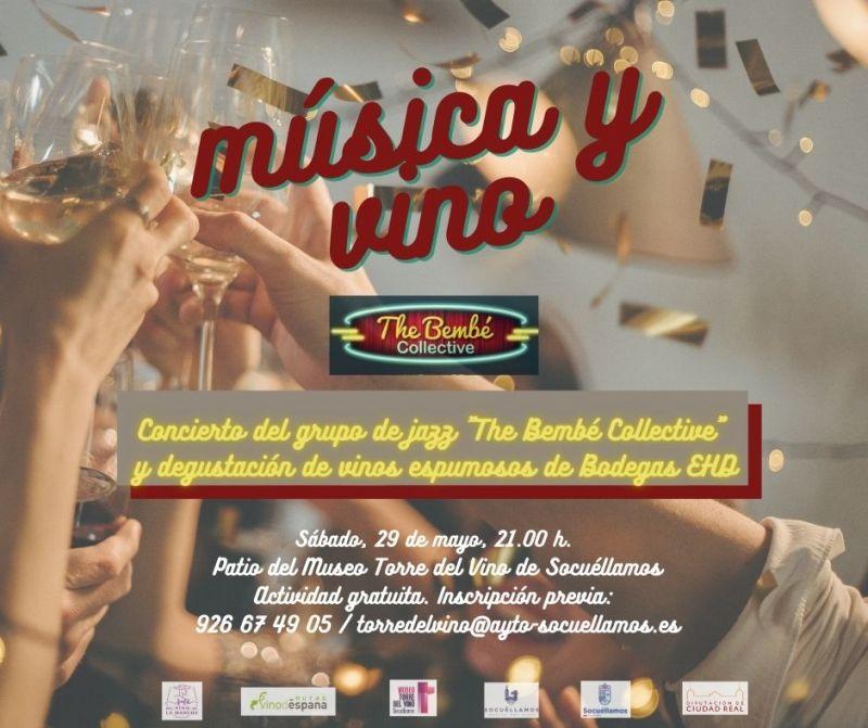 Imagen Música y Vino: The Bembé Collective y Bodegas EHD