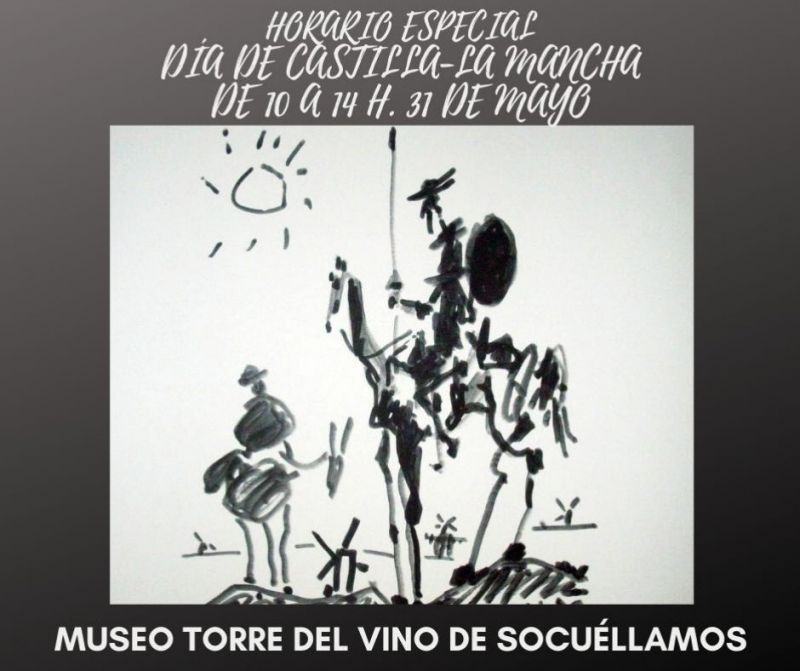 Imagen LA OFICINA DE TURISMO Y EL MUSEO TORRE DEL VINO ABRIRÁN SUS PUERTAS EL DÍA DE CASTILLA - LA MANCHA