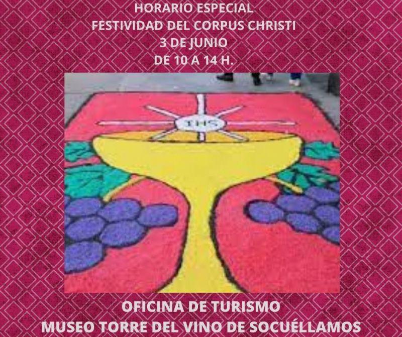 Imagen LA OFICINA DE TURISMO Y EL MUSEO TORRE DEL VINO ABRIRÁN SUS PUERTAS EL DÍA DEL CORPUS CHRISTI