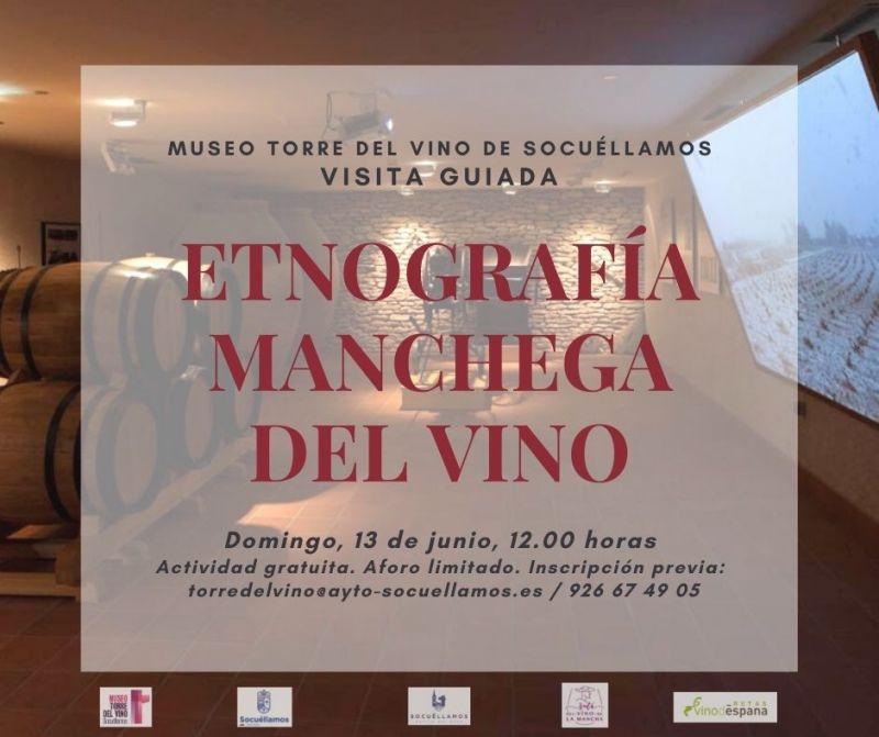 """Imagen  Visita guiada """"Etnografía manchega del Vino""""."""