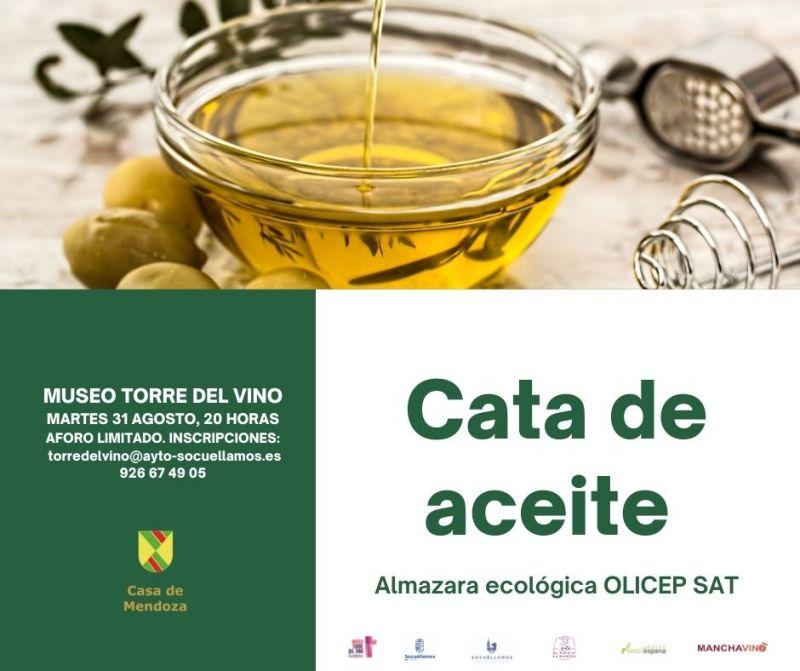 Imagen CATA DE ACEITE ALMAZARA ECOLÓGICA OLICEP SAT