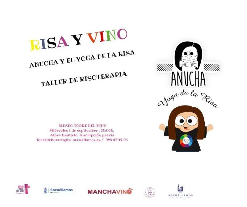 """Imagen """"RISA Y VINO"""" TALLER DE RISOTERAPIA"""