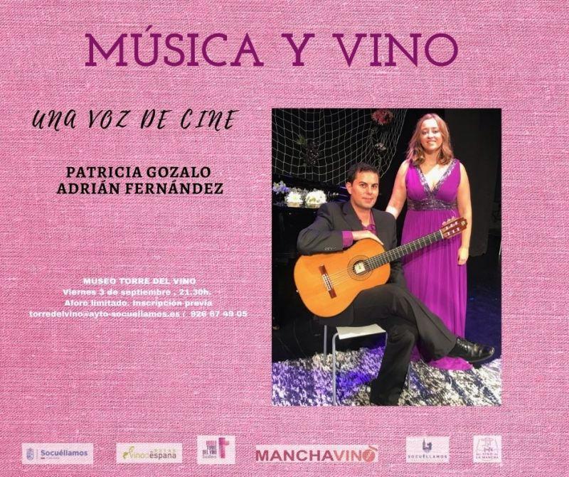 """Imagen MÚSICA Y VINO: """"UNA VOZ DE CINE"""""""