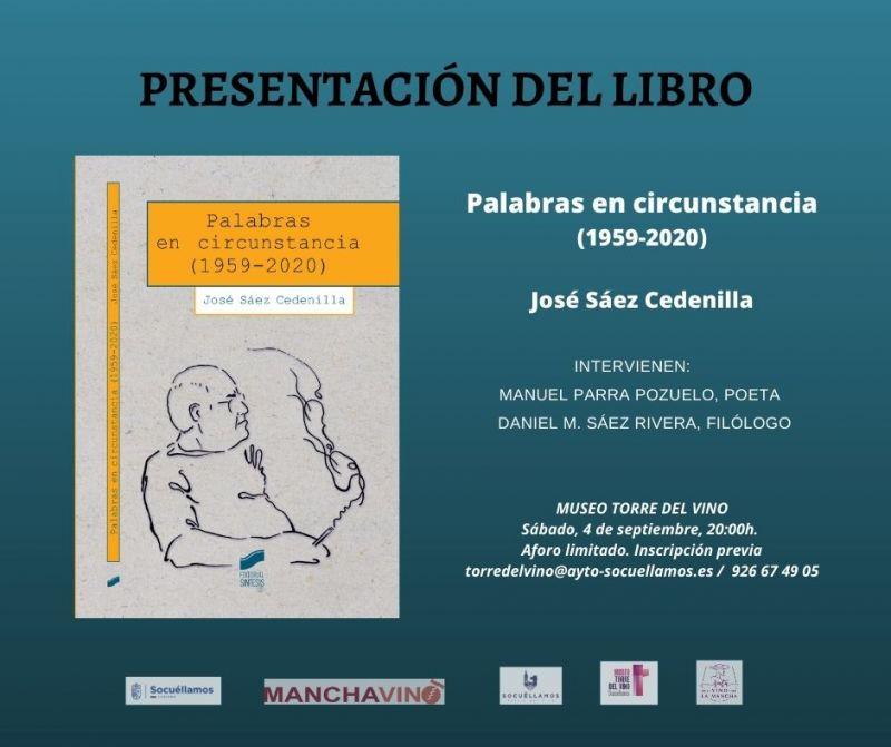 """Imagen Presentación del libro """"Palabras en circunstancia (1959-2020)"""""""